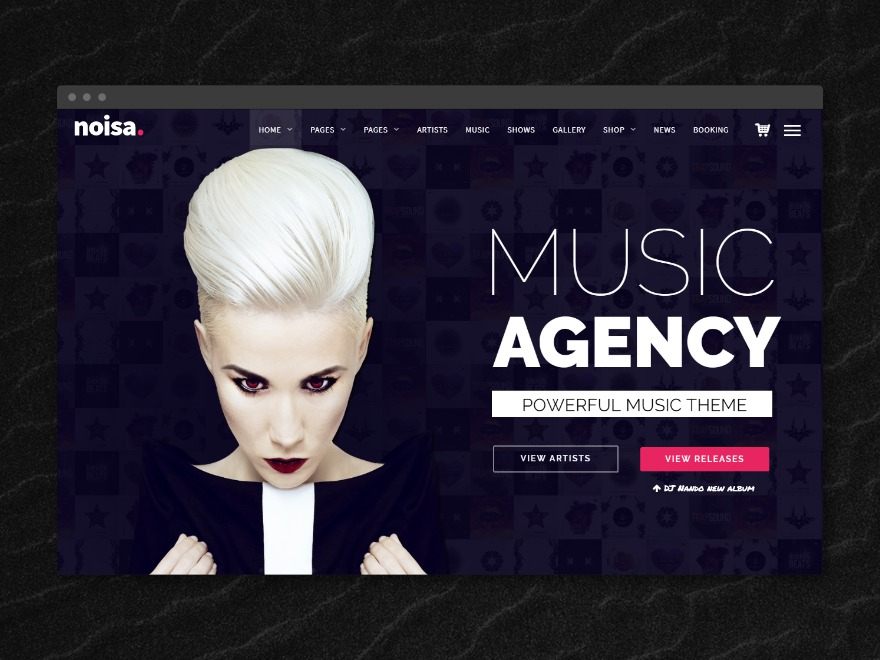 NOISA WordPress theme