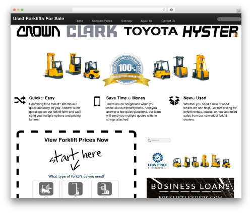 Free WordPress WP SEO HTML Sitemap plugin - used-fork-lifts-for-sale.com