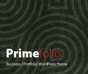 Primefolio WordPress theme