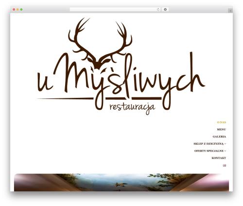 Restau Lite free WordPress theme - umysliwych.com
