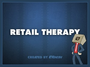 Retail Therapy WordPress template for business