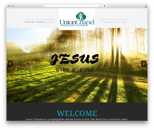 Sharefaith Church Website Template WordPress website template - ucmc.us