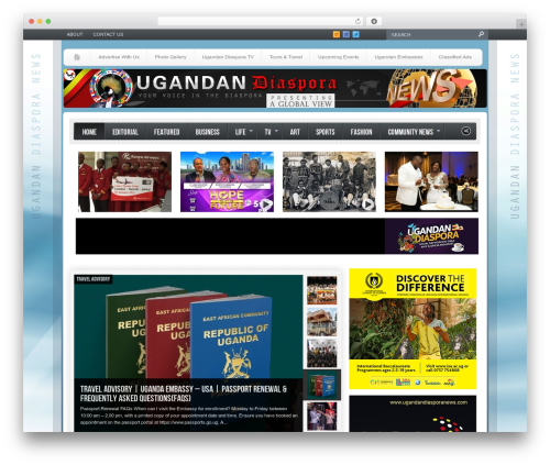 Free WordPress Theme My Login plugin - ugandandiasporanews.com