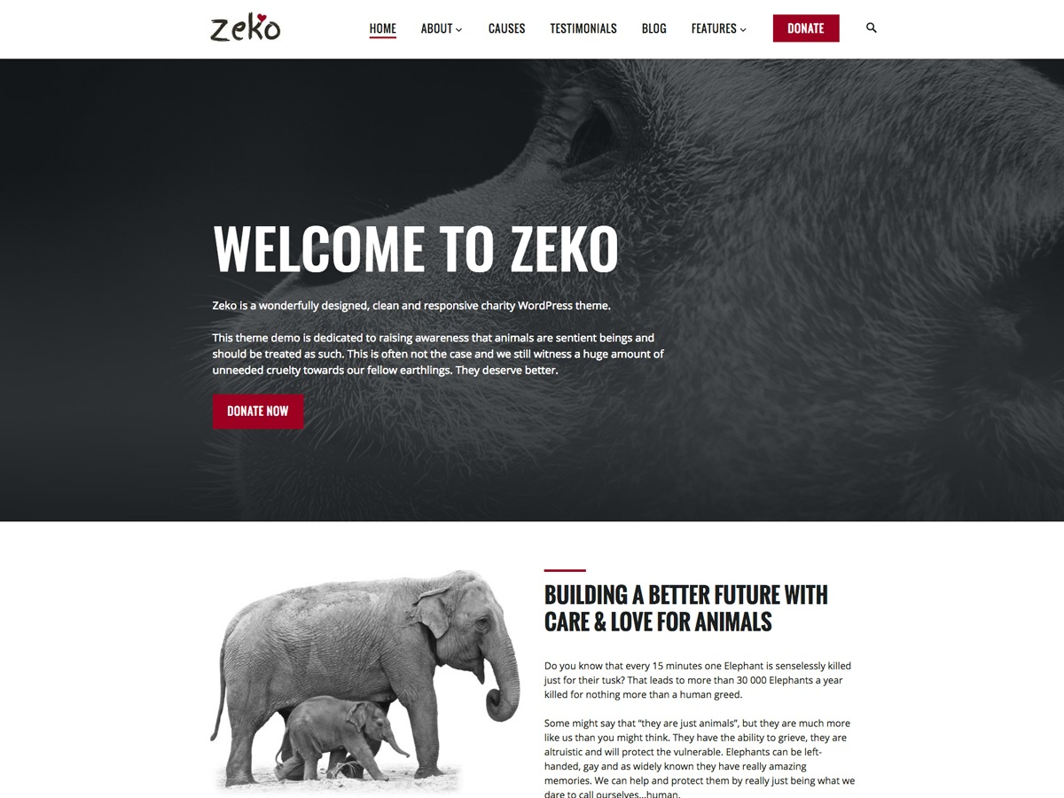 Template WordPress Zeko