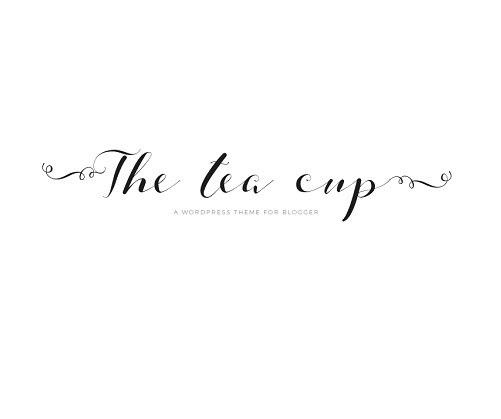 The Tea Cup WordPress blog template