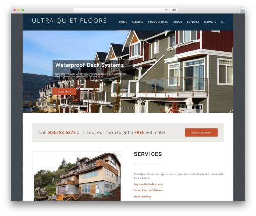 Theme WordPress Enfold - ultraquietfloors.com