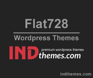 Theme WordPress Flat728 Wordpress Theme