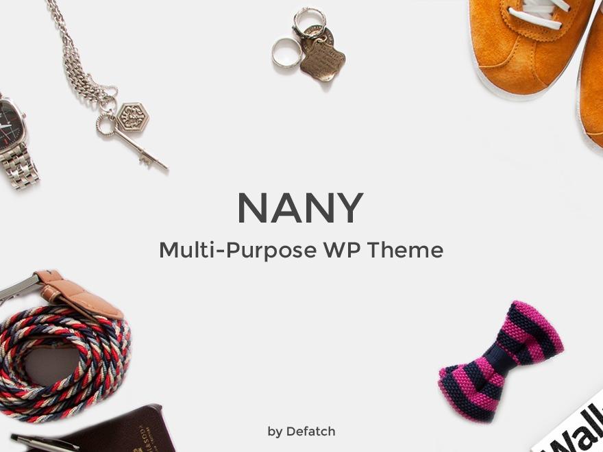 Theme WordPress Nany
