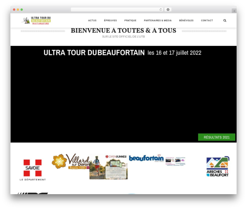 Theme WordPress The REX - ultratour-beaufortain.fr