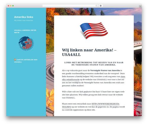 Twenty Fifteen WordPress theme - usainfo.nl