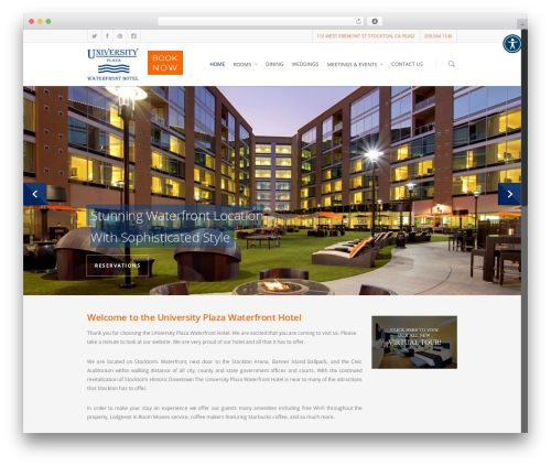 Free WordPress WP-PageNavi plugin - universityplazawaterfronthotel.com