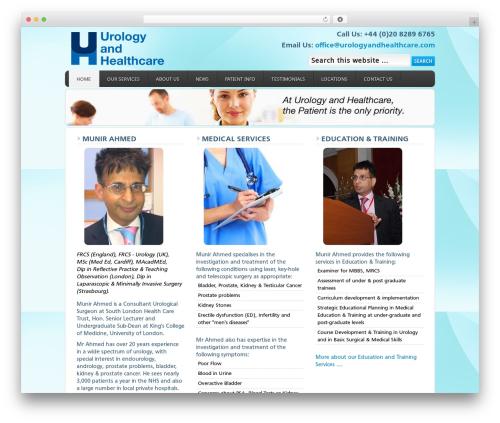 WordPress theme Enterprise Child Theme - urologyandhealthcare.com