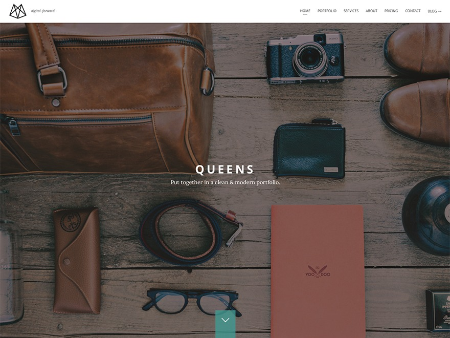 WordPress theme Queens