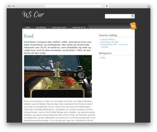 WordPress theme Snowblind - us-car.dk