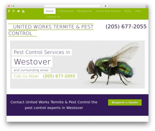 WP template Pest Control V7 - united.works