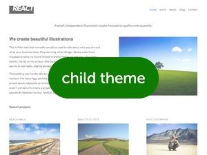 WP theme React PRO Child Theme