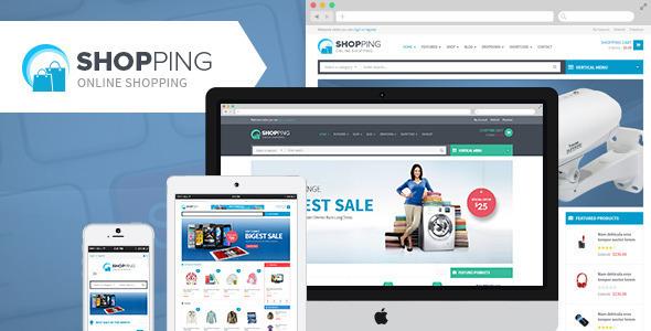 WPO Shopping (Share On Theme123.Net) best WooCommerce theme