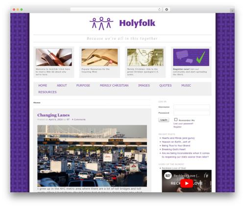 Free WordPress Login With Ajax plugin - holyfolk.com