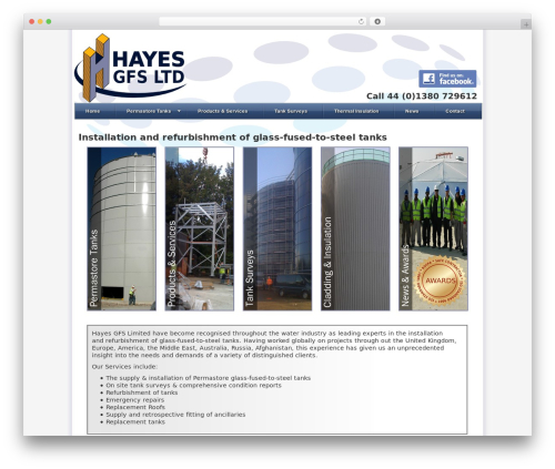 BLANK Theme WordPress theme - hayes-gfs.com