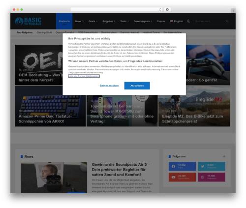 WordPress cm-table-of-contents-pro plugin - basic-tutorials.de