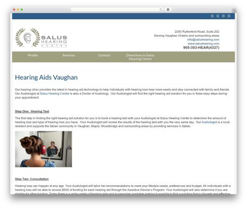 Virtue free WordPress theme - hearingaidsvaughan.ca