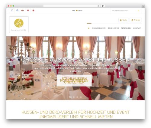 Wlad Framework best WordPress template - hussenverleih24.de