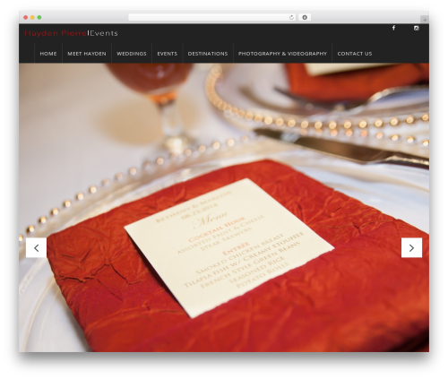 WP Omnia best WordPress theme - haydenpierre.com