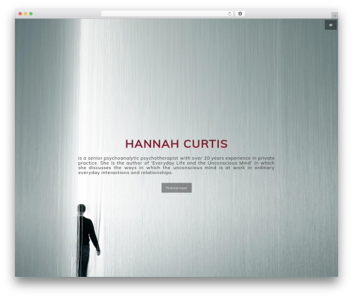 Cleanfrog WordPress theme - hannahcurtispsychotherapy.com