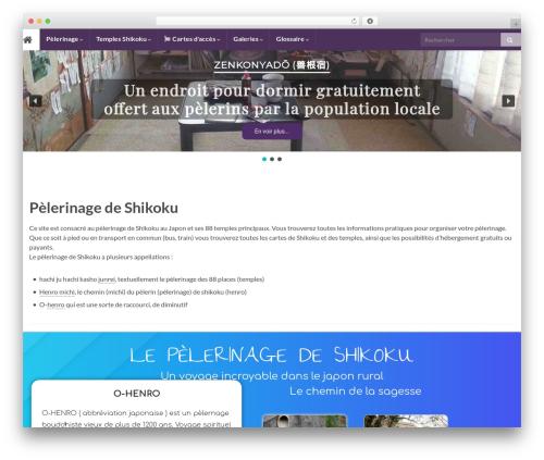 Graphene template WordPress free - henro.fr
