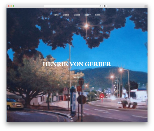 Jupiter WordPress theme - henrikvongerber.com