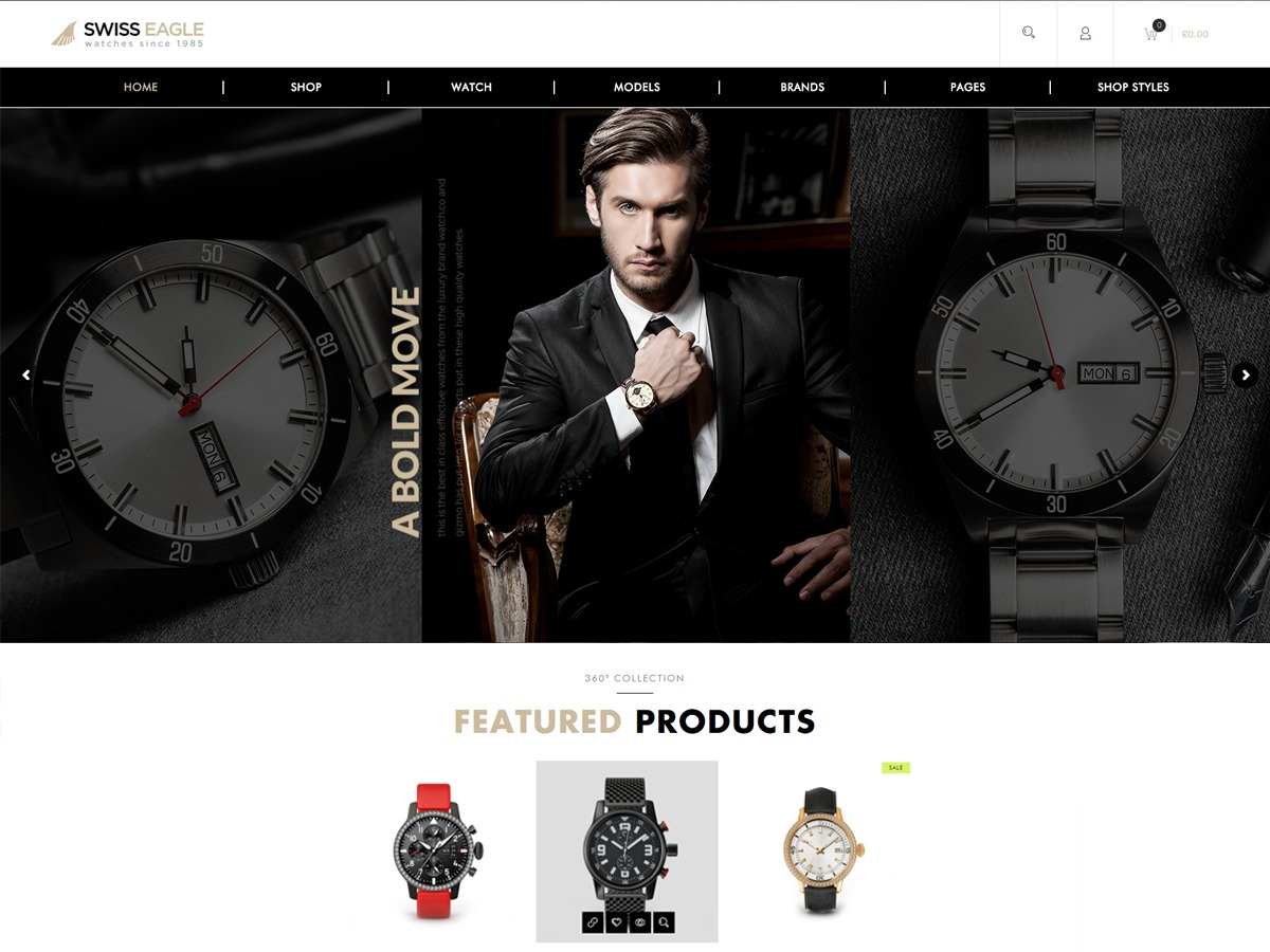 SwissEagle best WooCommerce theme