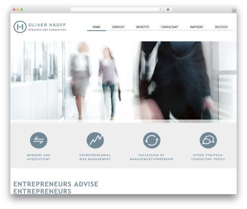 Theme WordPress Klasik - hauff-consulting.com