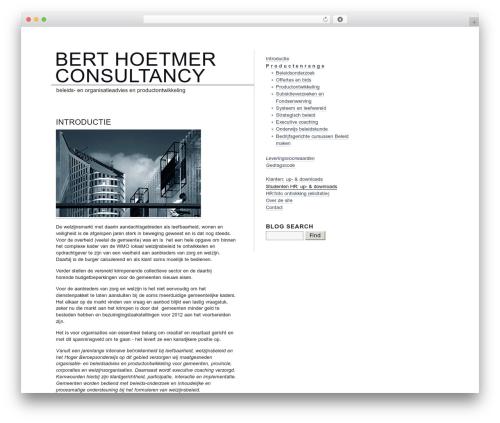 blog.txt WordPress blog template - hoetmer.org