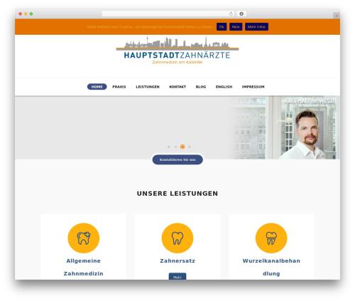 DENTALUX WP template - hauptstadt-zahnaerzte.de