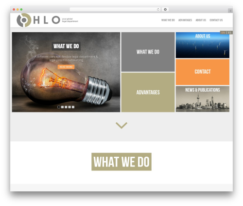 Jarvis 3.4 top WordPress theme - hloservices.com