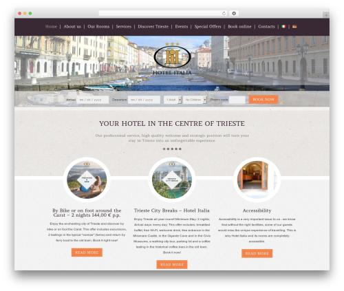 Klasik business WordPress theme - hotel-italia.it