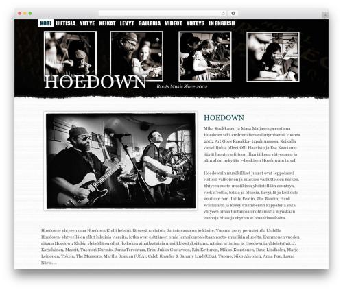 Suffu-scion WordPress theme - hoedown.fi