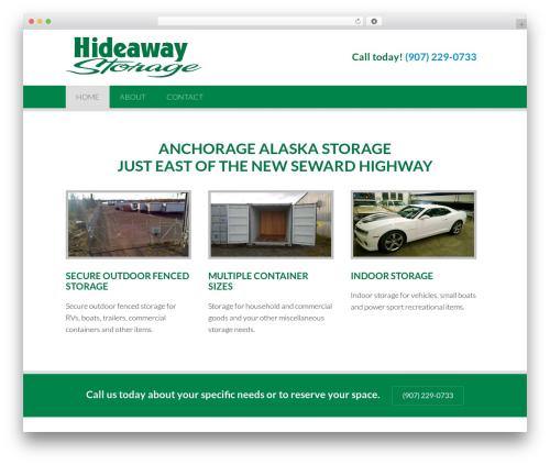 Sundog CORE WordPress theme - hideawaystorageak.com