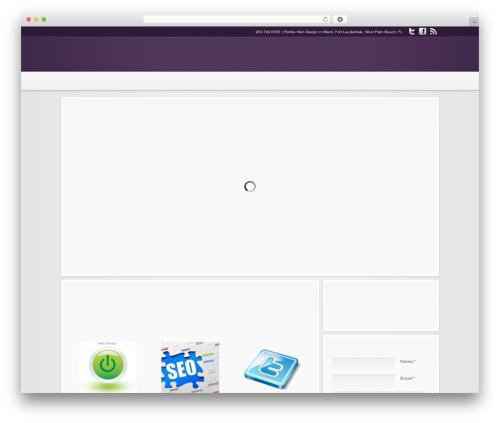 Theme WordPress Modular - harmonikdesigns.com