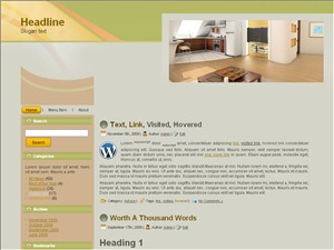 WordPress theme Interior Choice Wp