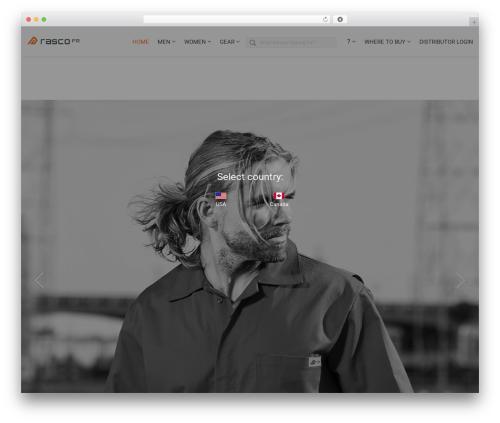 WordPress theme Versatile - rascofr.com