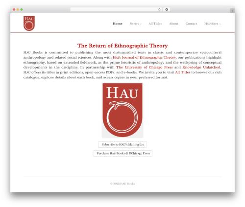 WP template Enlightenment - haubooks.org