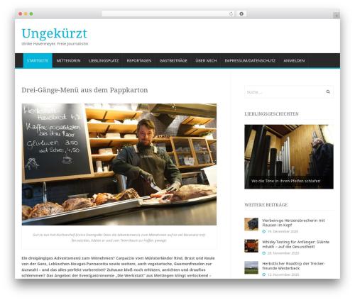 Antenna WordPress theme - havermeyer.de