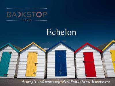 Best WordPress template Echelon
