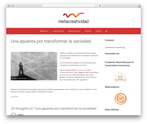 Forefront WordPress template free download - metacreatividad.org