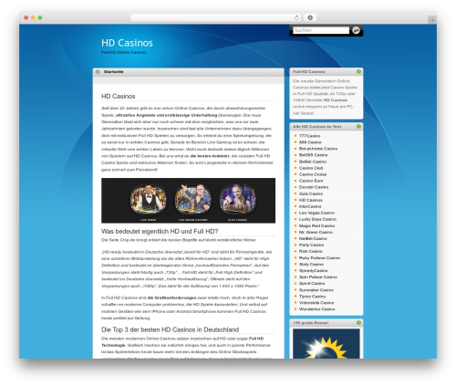 iTheme top WordPress theme - hd-casinos.com