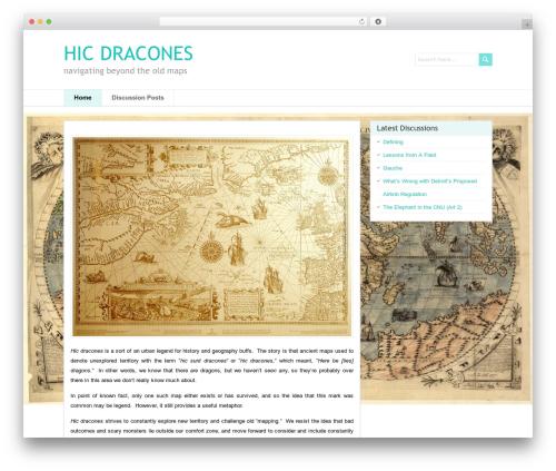 PaperCuts WordPress theme design - hicdracones.com