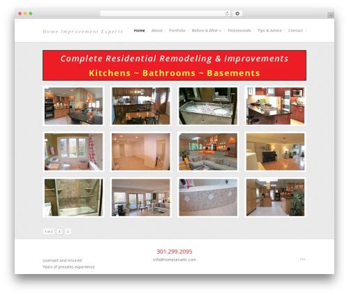 Share WordPress page template - homeservellc.com