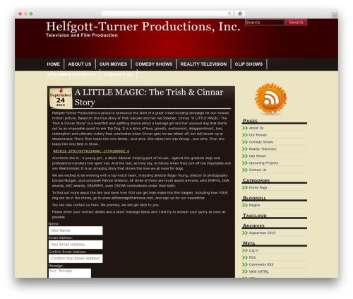 Tandil best WordPress theme - helfgott-turnerproductions.com