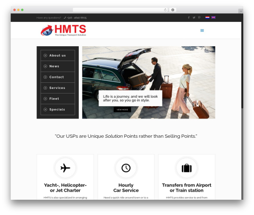 WordPress theme Betheme - hmts-worldwide.com